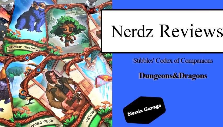 Stibbles' Codex of Companions Unboxing